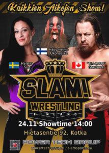 SLAM! Wrestling in Kotka