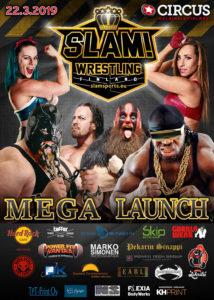 SLAM! Wrestling Finland Mega Launch