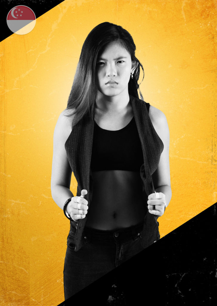 Alexis Lee, wrestler.