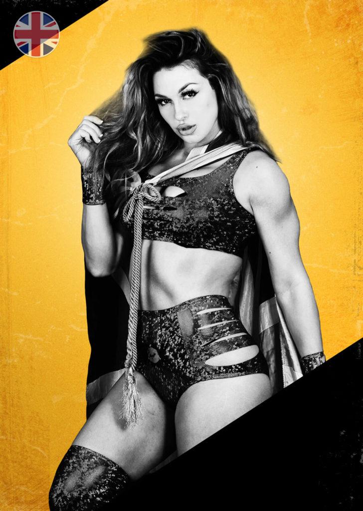 Heidi Katrina, wrestler