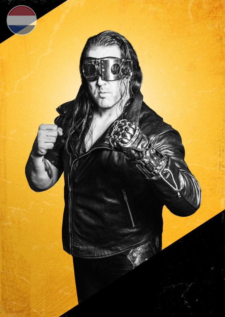 Kenzo Richards, wrestler.