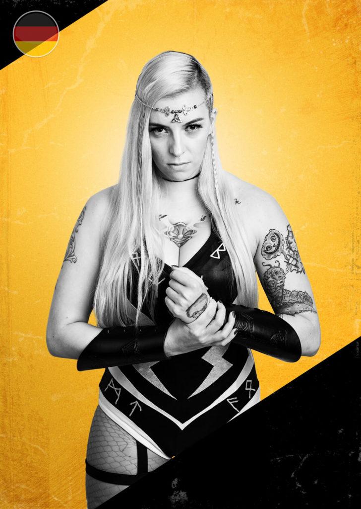 Lexa Valo, wrestler.