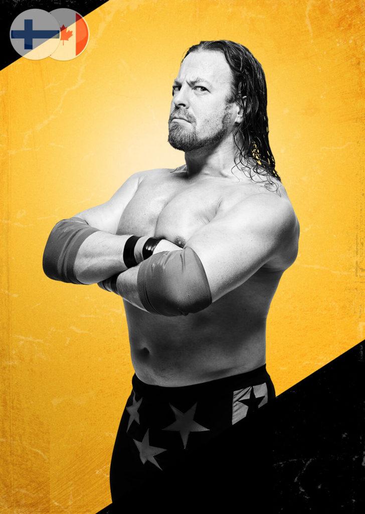 StarBuck, wrestler.
